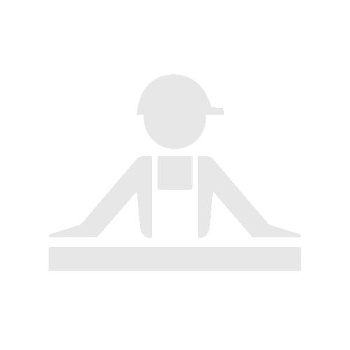 Barrière de chantier + plaque