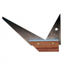 Equerre menuisier double onglet 250 mm