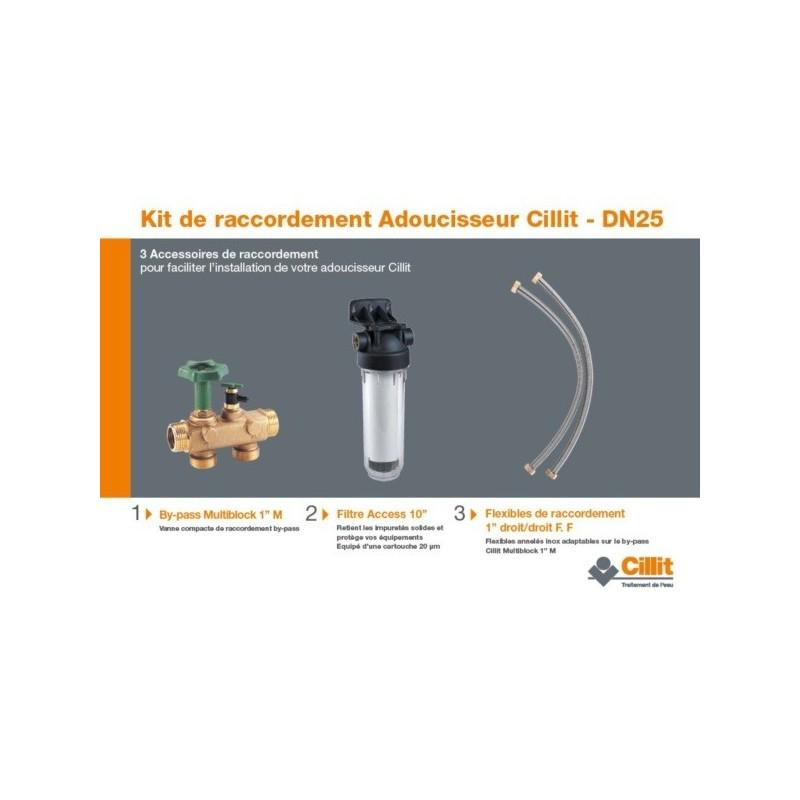 Kit de raccordement adoucisseur dt - bwt france