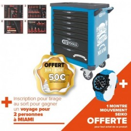 Servante One by One éditions limitée 284 outils MIAMI
