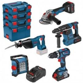 Lot de 5 outils BOSCH 18V