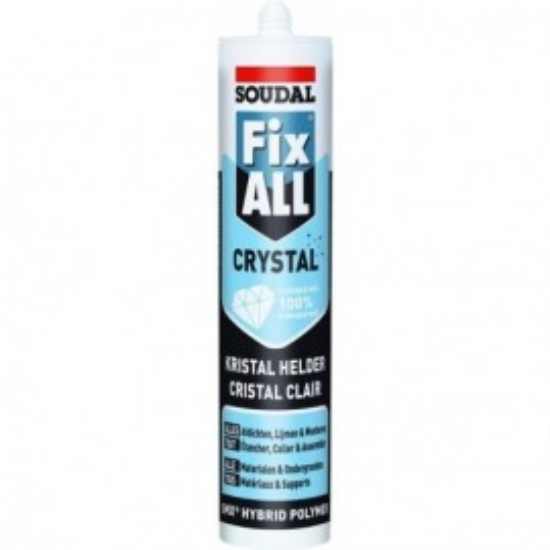 Mastic MS Polymères Fix ALL Crystal