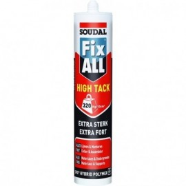 Mastic-colle MS polymères - FIX ALL HIGH TACK
